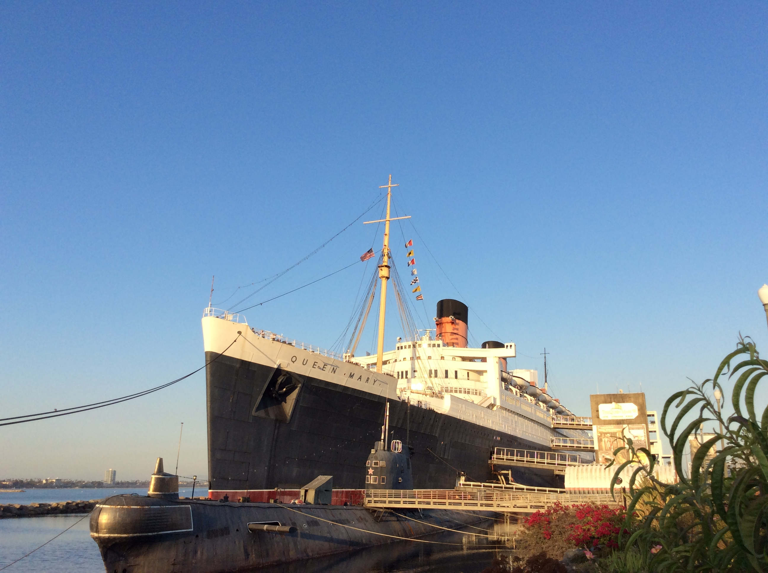 Cooking for Ghosts on the RMS Queen Mary